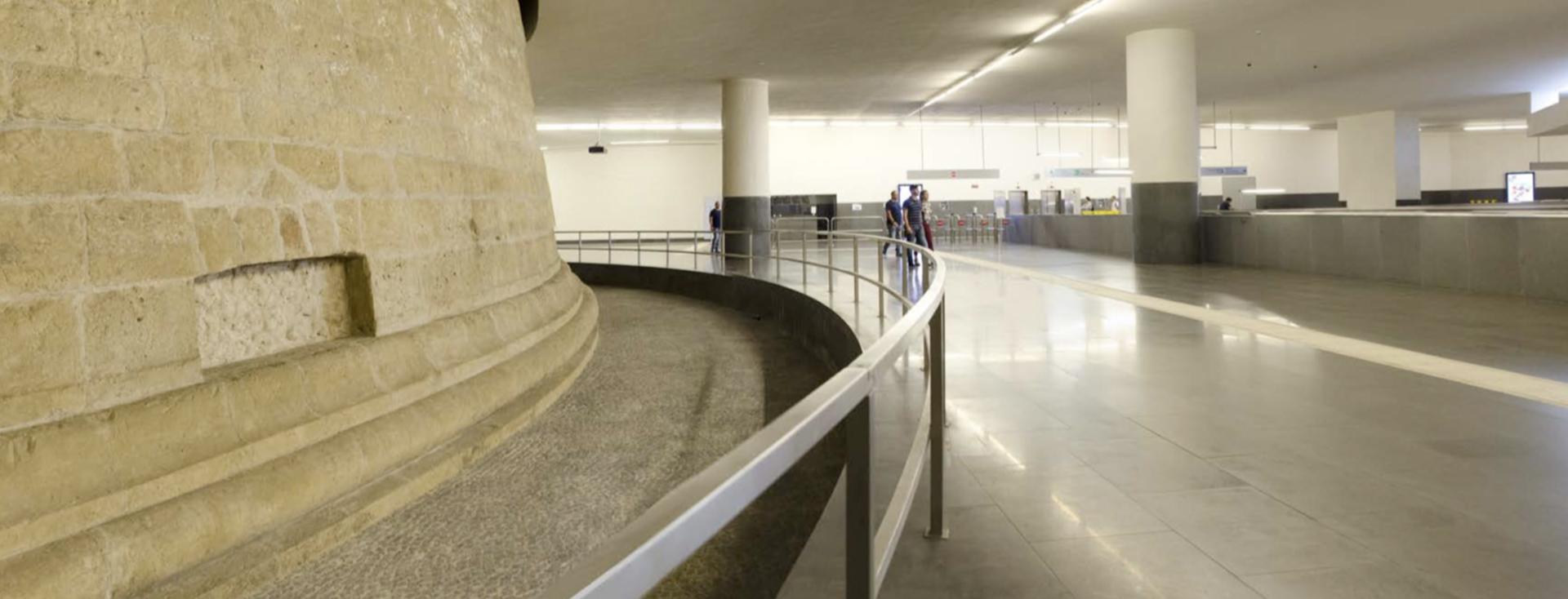 linea 1 - stazione municipio - metropolitana