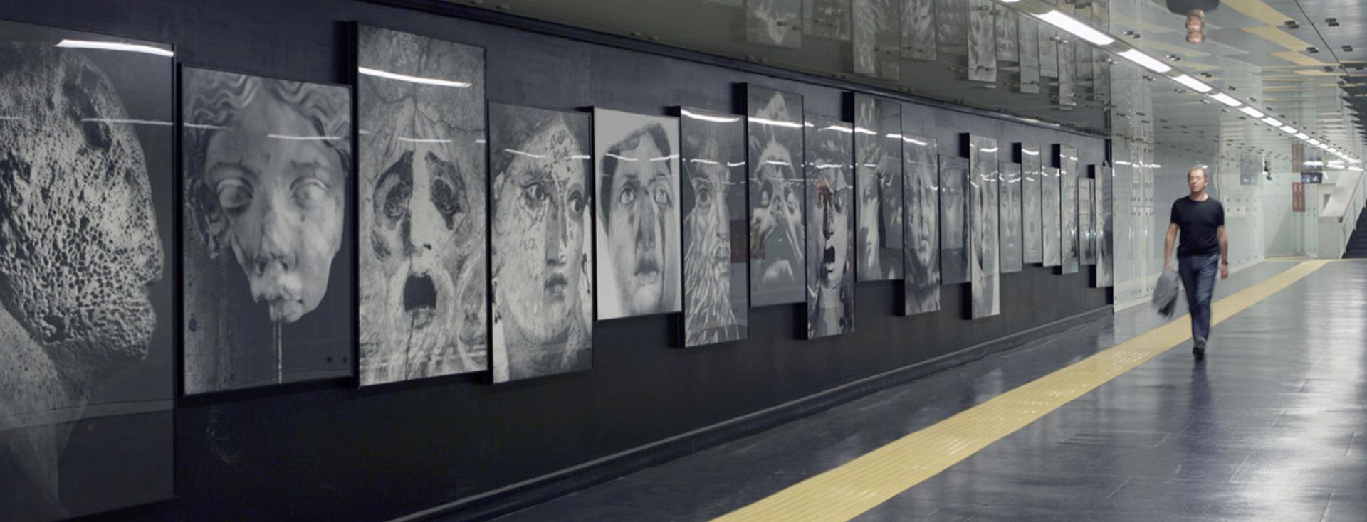 linea 1 - stazione museo - metropolitana di napoli