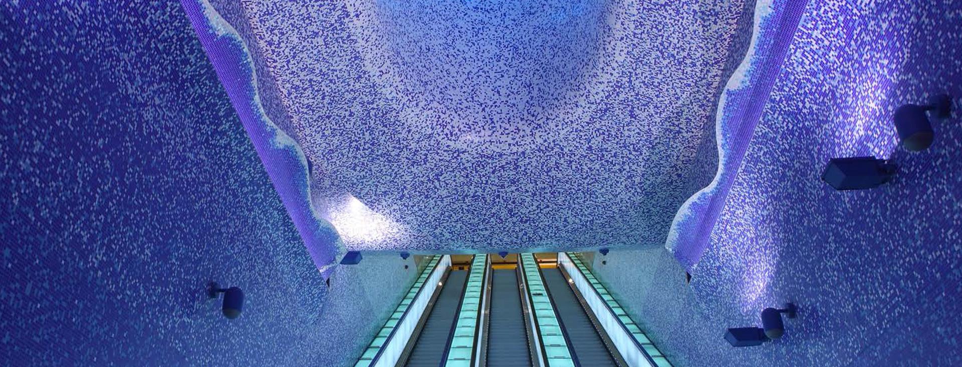 linea 1 - stazione toledo - metropolitana di napoli