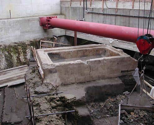 stazione duomo - ritrovamenti archeologici
