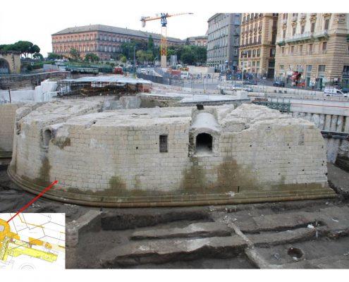 stazione municipio - ritrovamenti archeologici