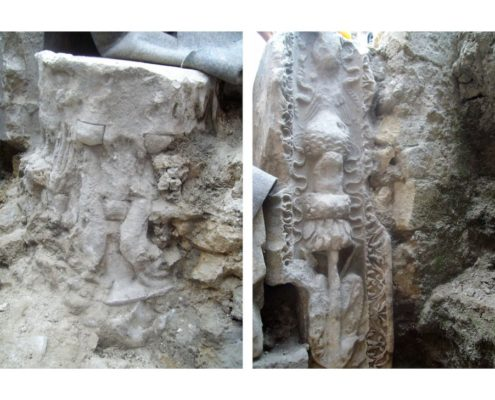 stazione università - ritrovamenti archeologici