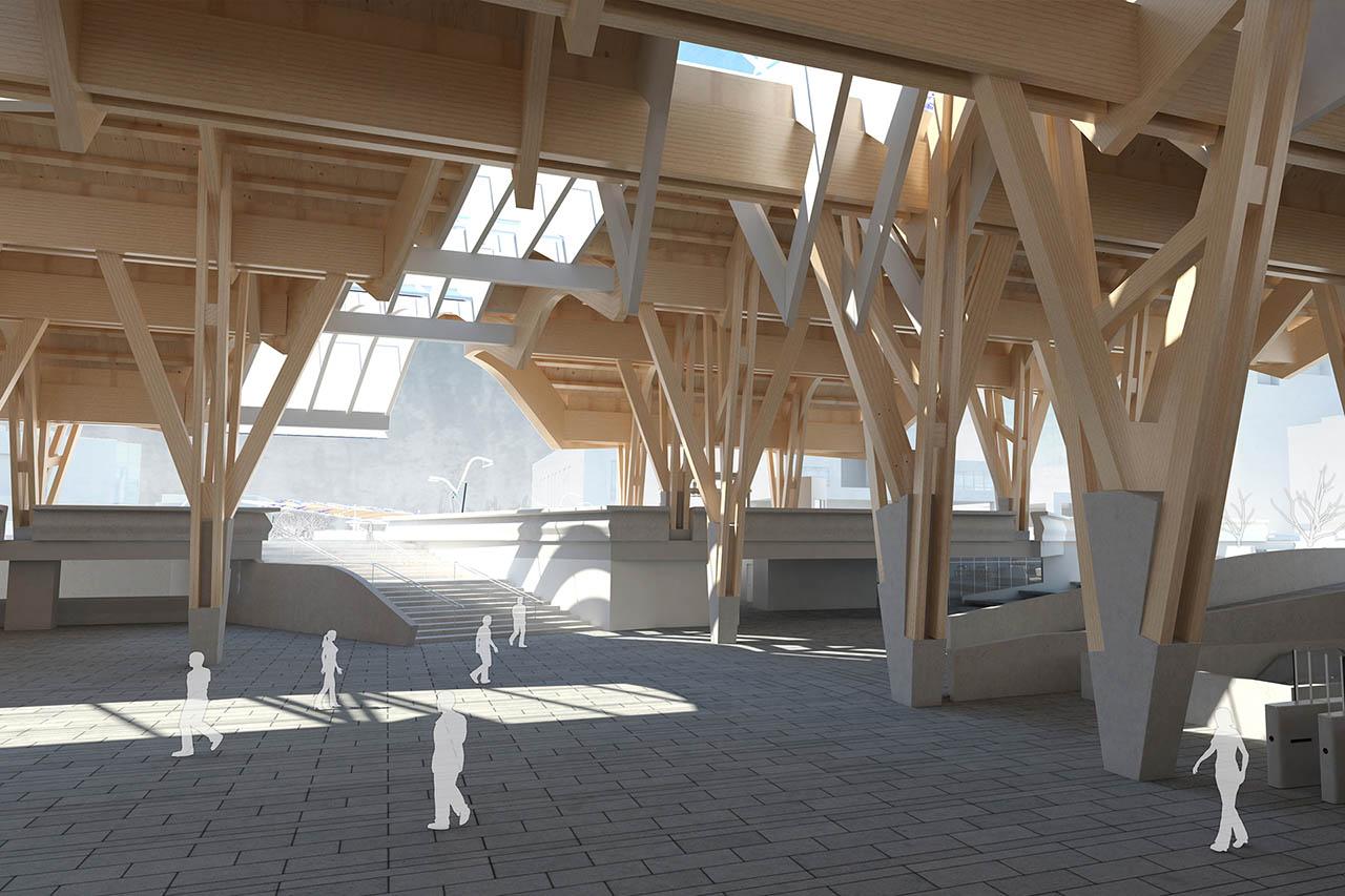 stazione centro direzionale metropolitana di napoli