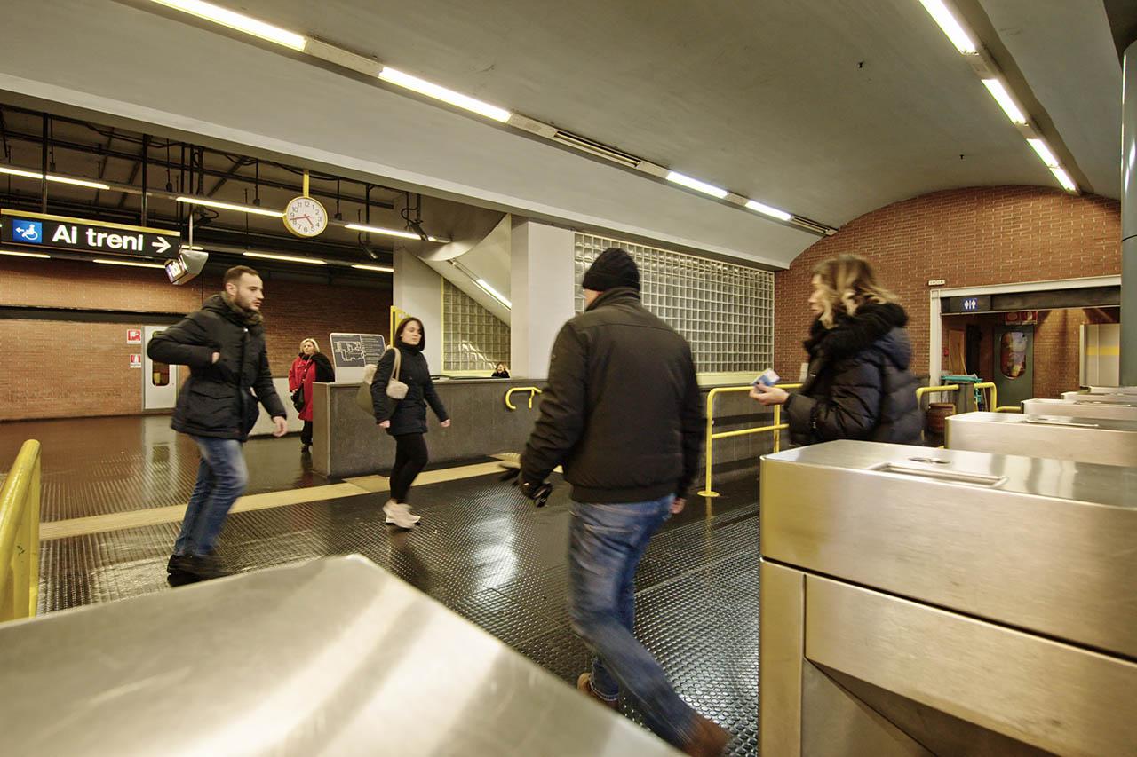 stazione colli aminei - metropolitana di napoli