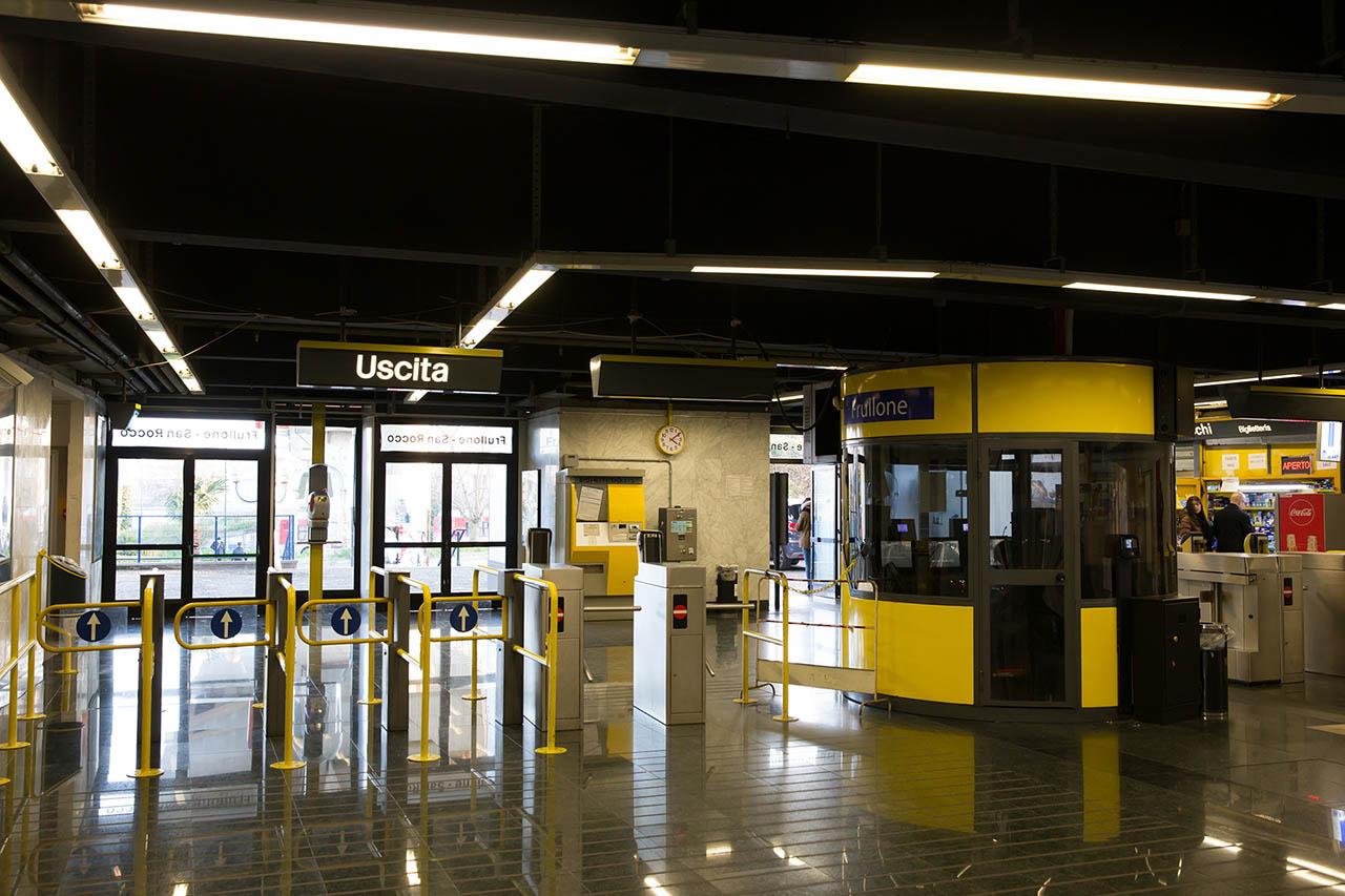stazione frullone san rocco - metropolitana di napoli