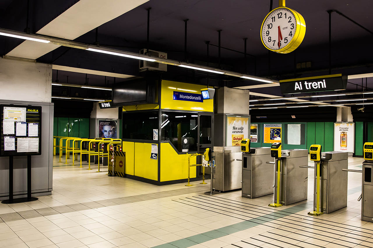 metropolitana montedonzelli napoli