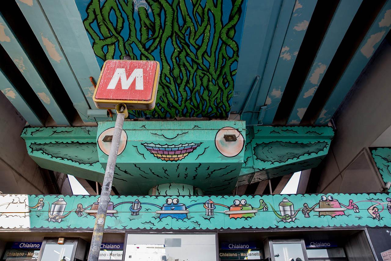 stazione chiaiano marianella - metropolitana di napoli