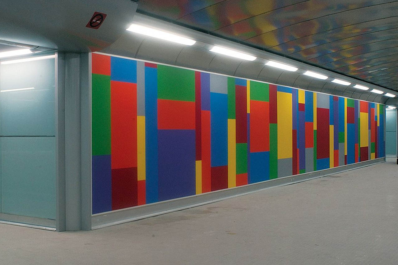 metropolitana di napoli - stazione materdei - sol lewit
