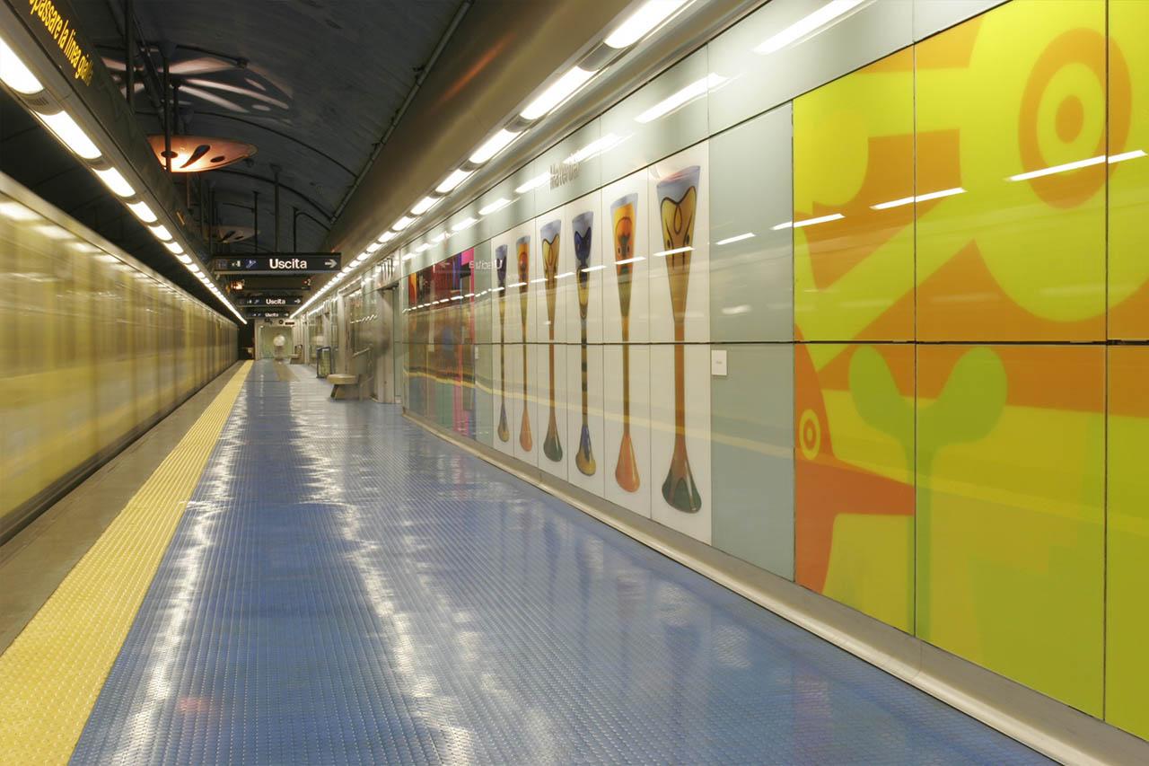 Stefano Giovannoni - stazione materdei napoli