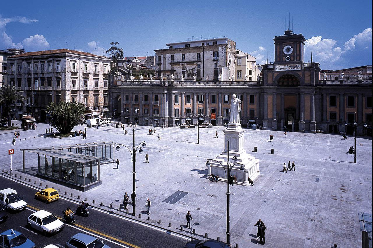 stazione dante - piazza dante - metropolitana di napoli
