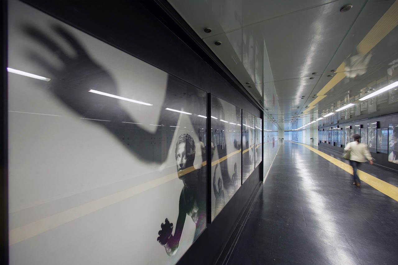 Mimmo Jodice - stazione museo - metropolitana di napoli