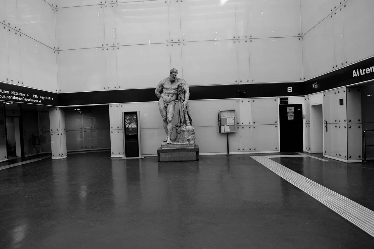 Calco Dell'Ercole Farnese - stazione museo - metropolitana