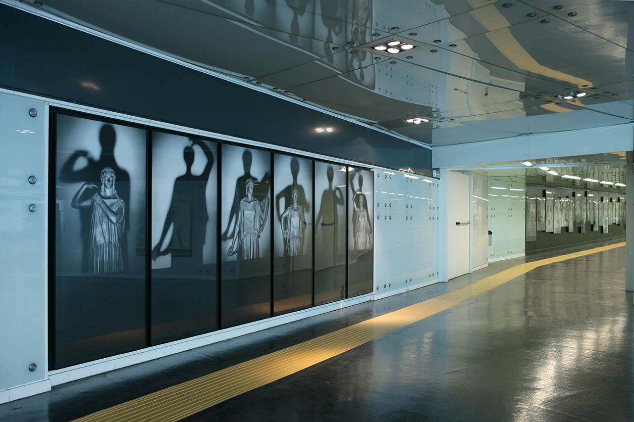 stazione museo - Mimmo Jodice - metropolitana di napoli