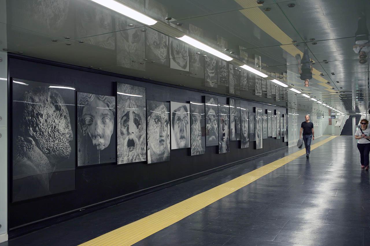 Mimmo Jodice - metropolitana museo - napoli