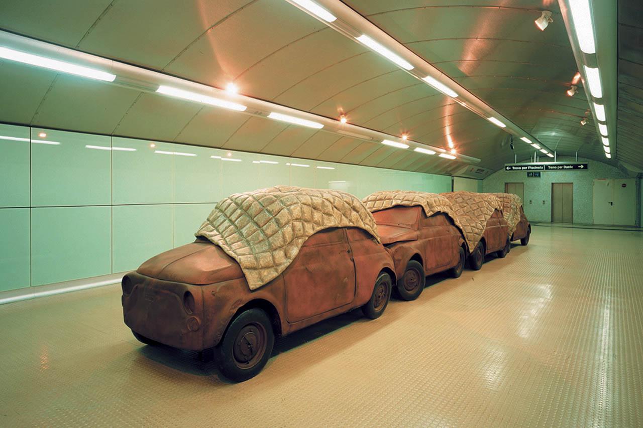 Perino & Vele - stazione salvator rosa - metropolitana di napoli