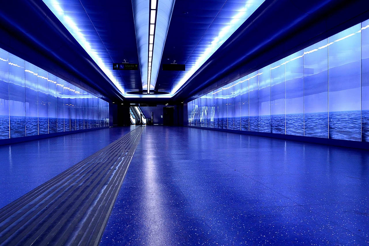 Robert Wilson - stazione toledo - metropolitana di napoli