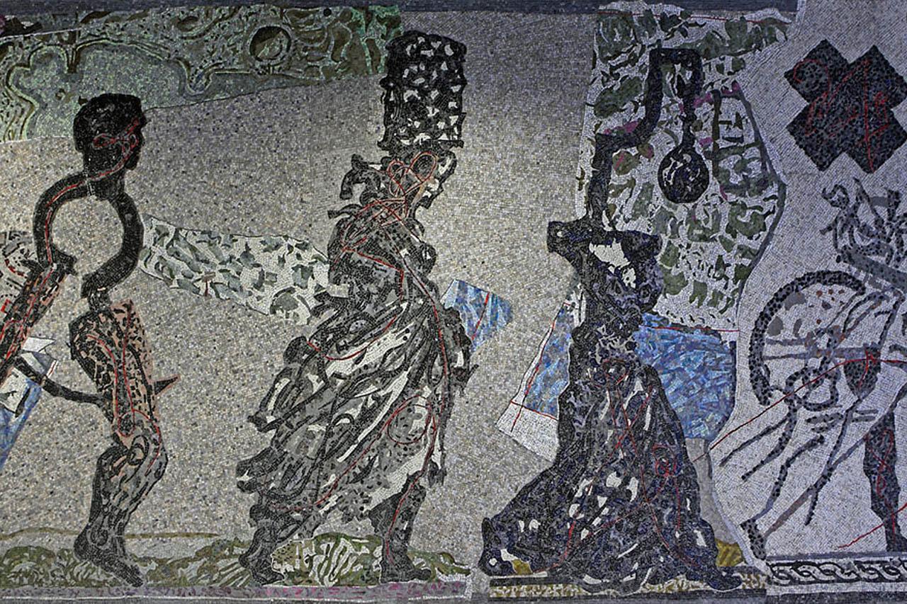William Kentridge - stazione toledo - metropolitana