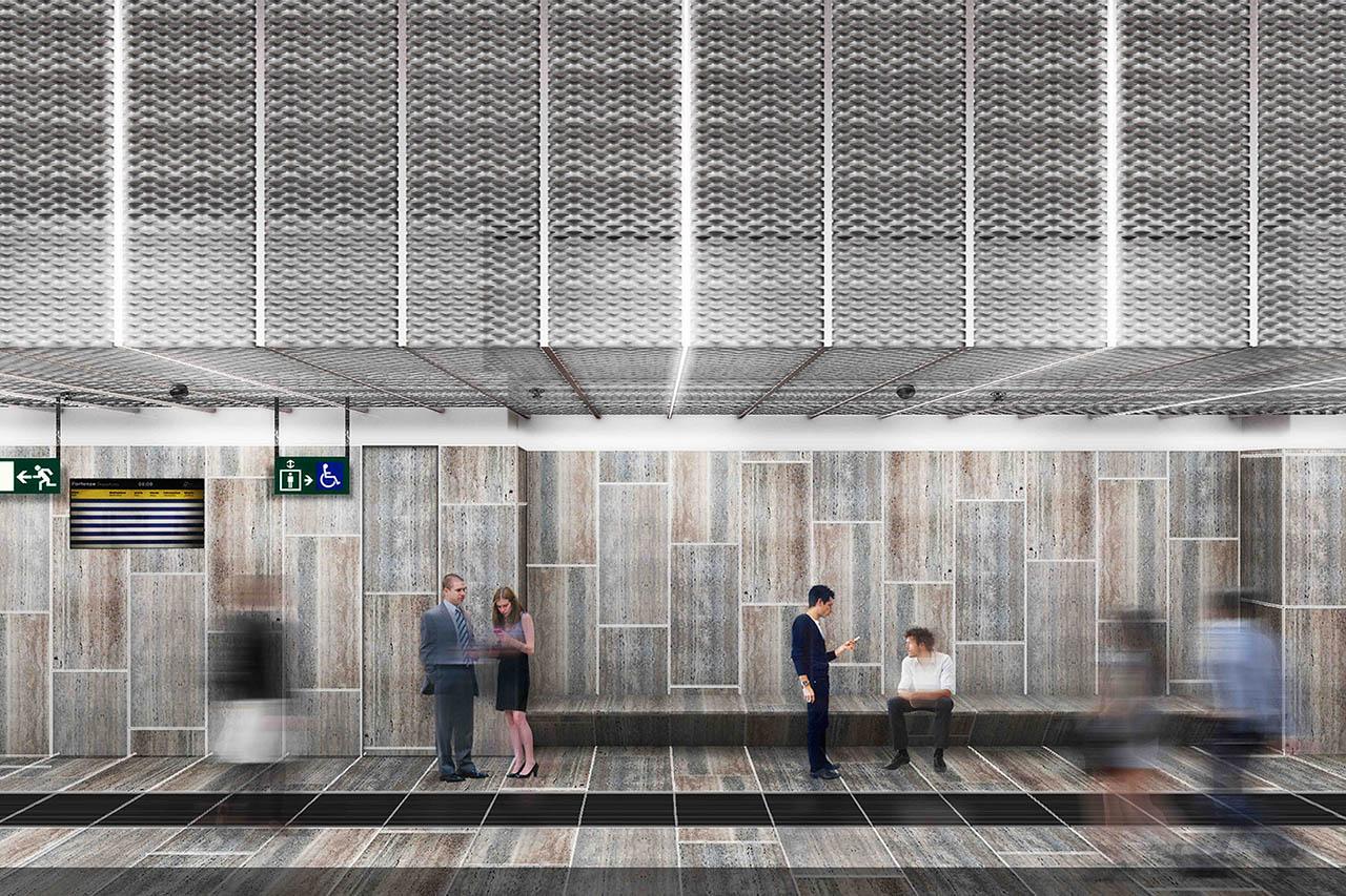 stazione poggioreale - metro napoli