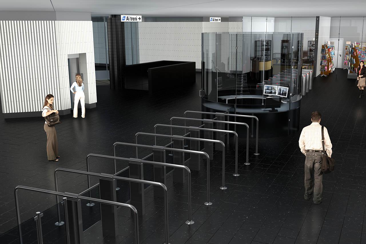 metropolitana di napoli - stazione poggioreale - linea 1