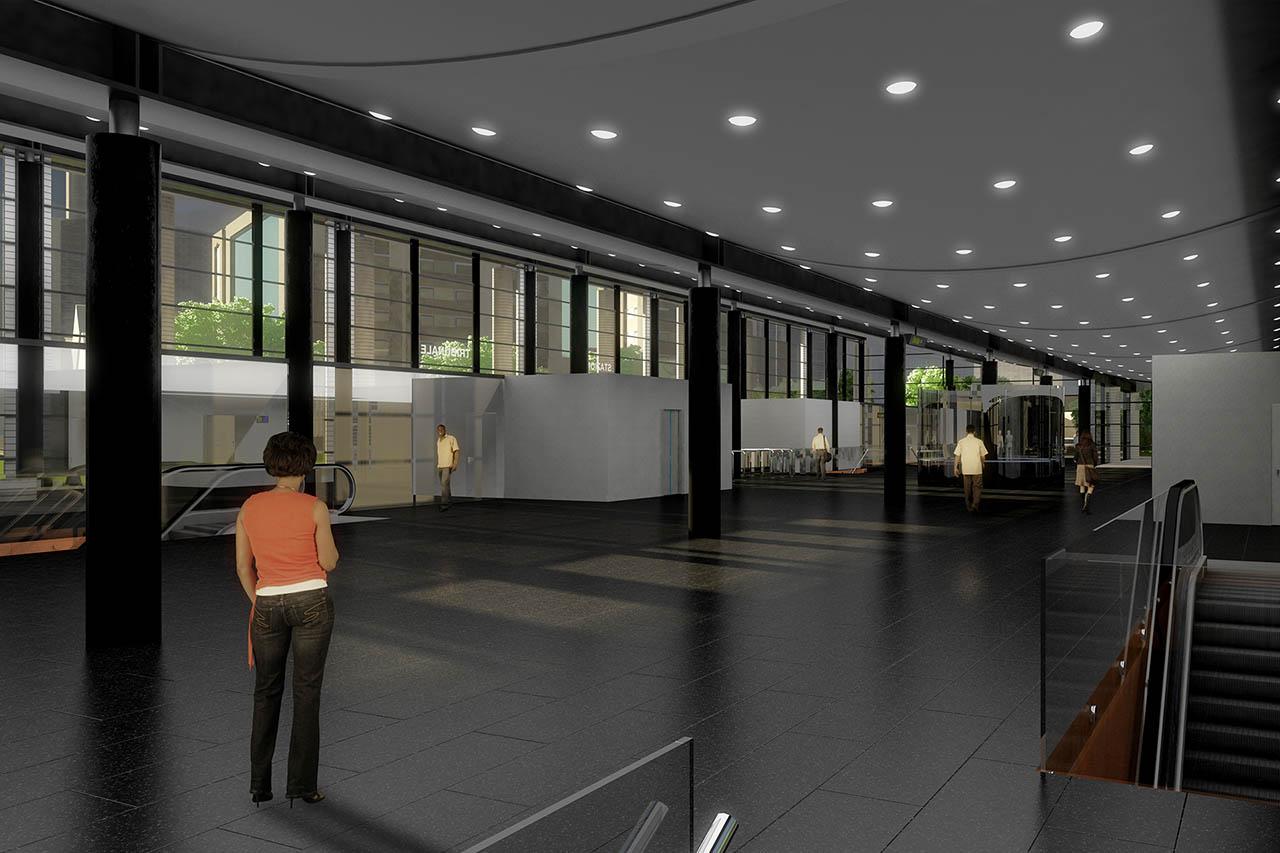 metro napoli - stazione tribunale