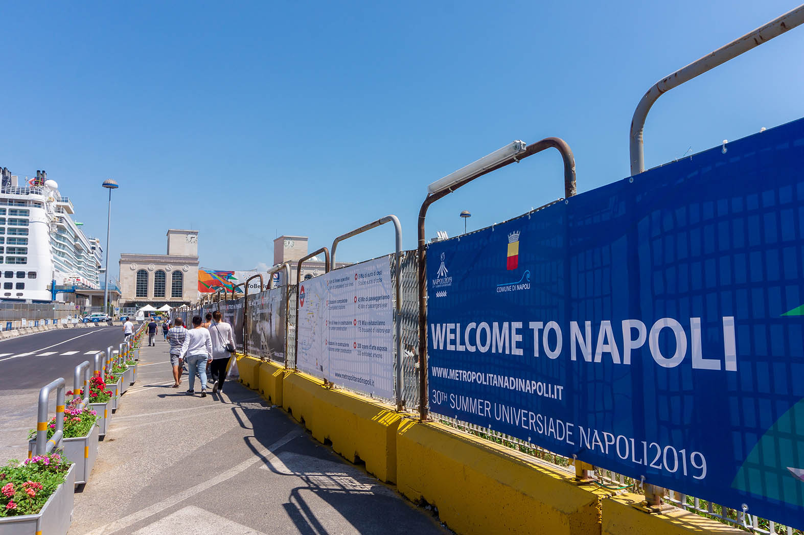 metropolitana napoli - Universiade 2019